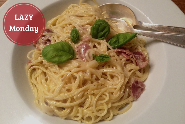 Sphaghetti Carbonara