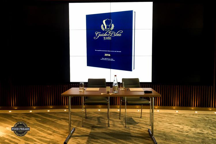 Pressekonferenz Guide Bleu & la suisse gourmande im Ecco, Zürich