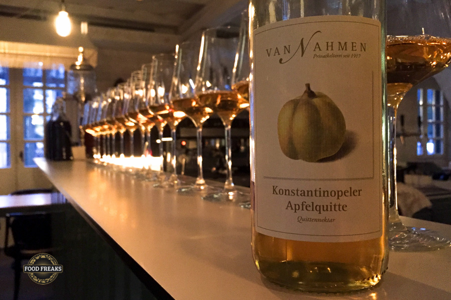Obstkelterei van Nahmen beim Maison Manesse in Zürich 9