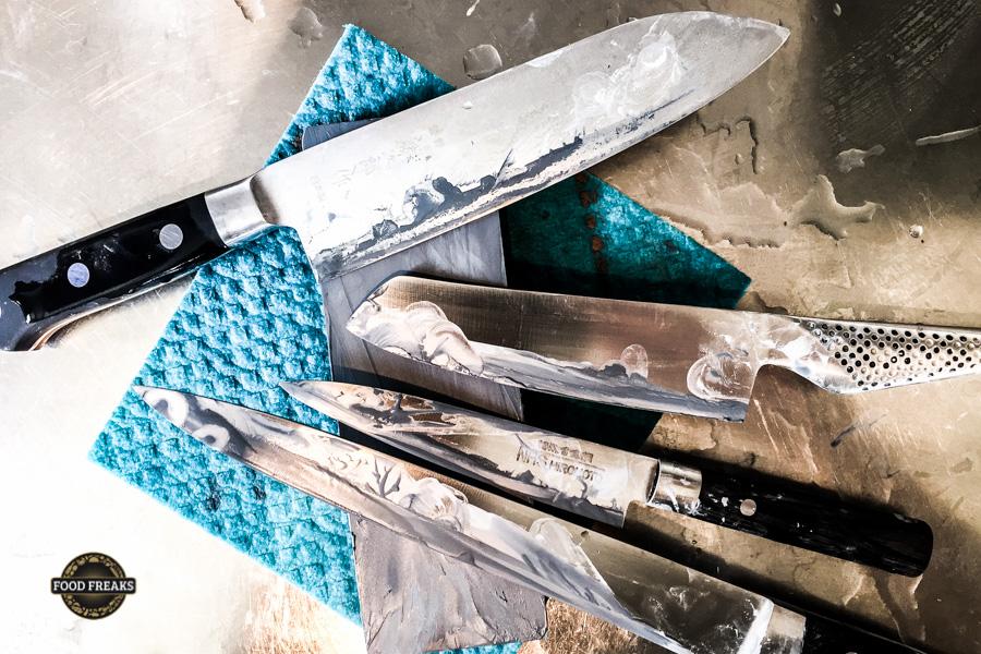 [Know-how] Wie schleift man Messer?