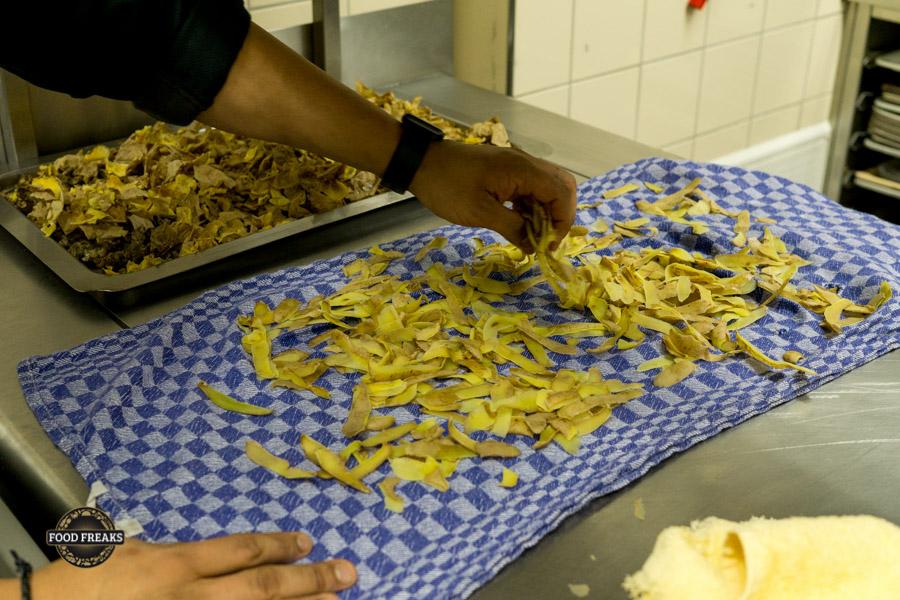 Rezept Kartoffelschalen-Chips
