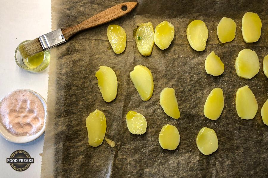 Stangensellerie-Dattel-Salat