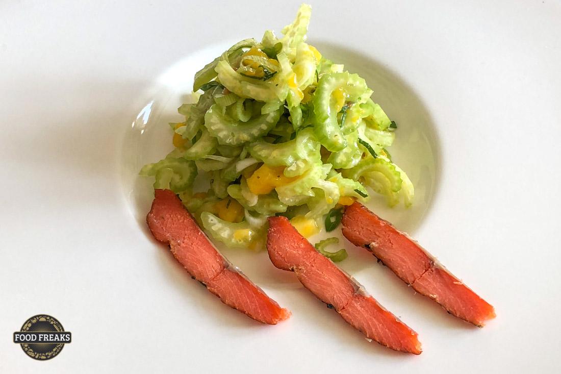 Rezept Stangensellerie-Mango-Salat