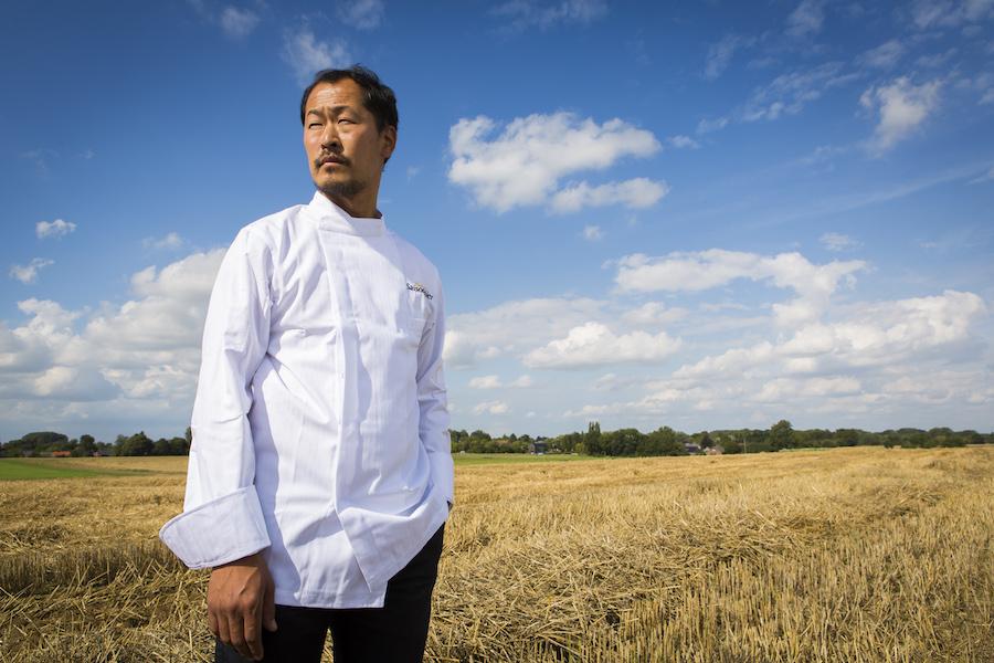 *Sang-Hoon Degeimbre © Culinaire Saisonnier