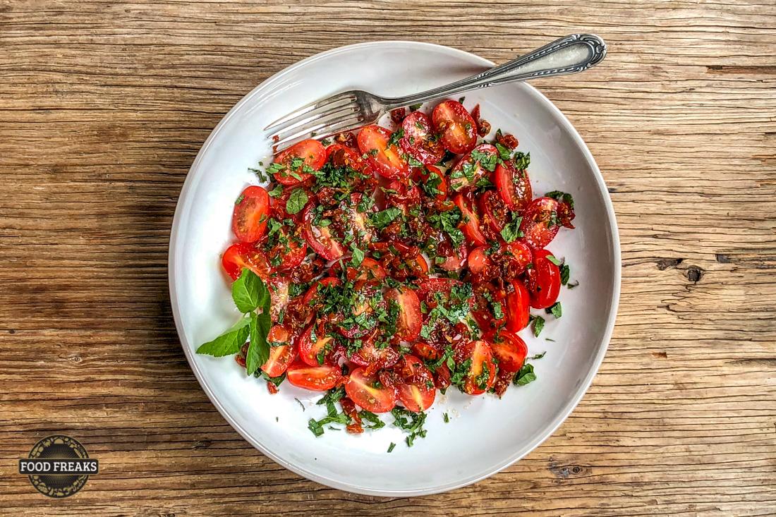 [Rezept] Tomate mit Giersch