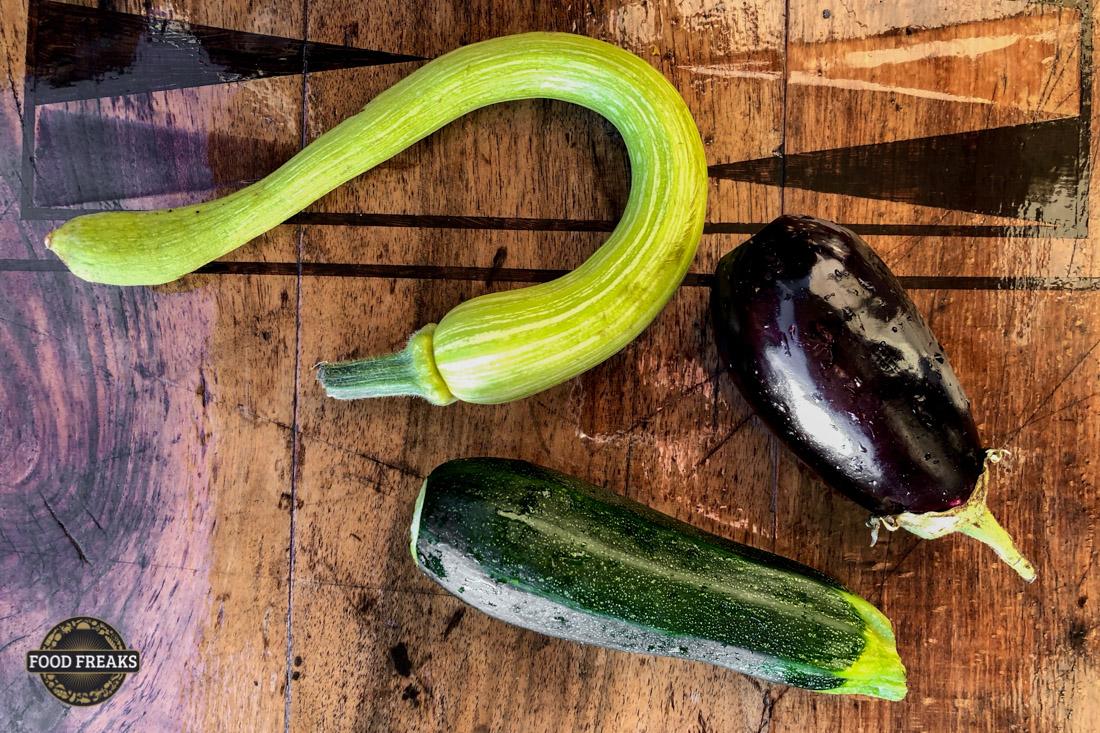[Rezept] Gartengemüse grilliert