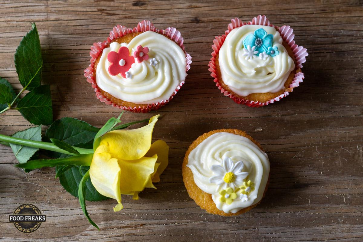 [Rezept] Vanille Cupcakes mit Cream Cheese Creme