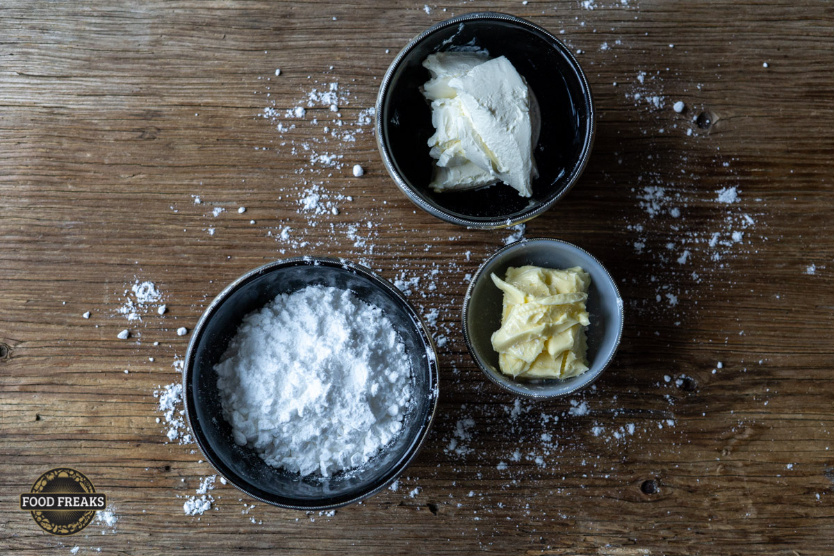 FoodFreaks Rezept Vanille Cupcakes von Sophie